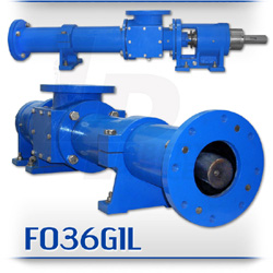 F036G1L Series Progressive Cavity Crude Oil Transfer and Sludge Pump