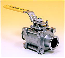Sanitary Stainless Steel Ball Valves – Top-Flo®