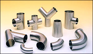 Butt-Weld Fittings | Top Line Tube O.D. Butt Weld Fittings