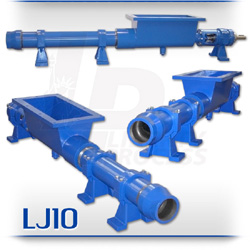 LJ10H Series Open Hopper Progressive Cavity Pump