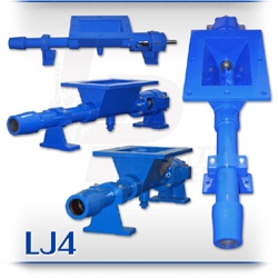 LJ4 Series Open Hopper Progressive Cavity Pump