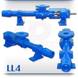 LL4 Progressive Cavity Pump | High-Abrasives, Content Grouting, Slurry PC Pump