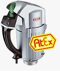 FLUX ATEX Explosion Proof Pump Drive Motors Type FBM 4000 Ex