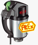 FLUX ATEX Explosion Proof Pump Drive Motors Type F 460-1 Ex