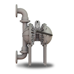 Versa-Matic® E2HP High Pressure Double Diaphragm Pump