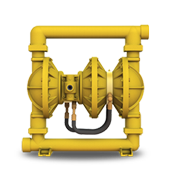 Versa-Matic® N50 2″ High Pressure Double Diaphragm Pump