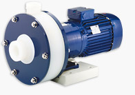 Flux Renner RM 5 Magnetically Coupled Plastic Centrifugal Pump