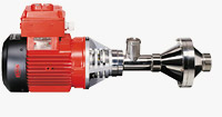 Flux Pumps Type F 640 PP-30 TR & Type F 640 PP-230 TR Horizontal Centrifugal Immersion Pump