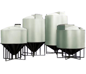 Conical Bottom Storage Tanks from ACO Container Systems