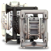 Air Operated Diaphragm Pump, AODD Pump, Versa-Matic, E1, Versamatic, York Fluid Controls