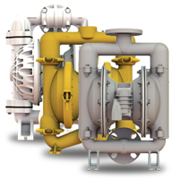 Air Operated Bolted Diaphragm Pumps, Elima-Matic, E4, Elimamatic, AODD Pump, York Fluid Controls