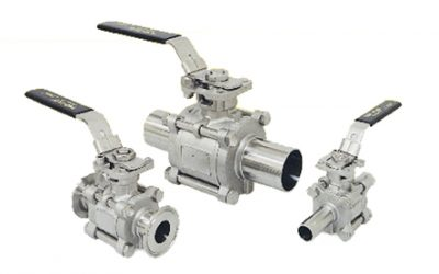 Top-Flo® Series 77 High Purity Ball Valve