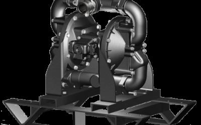 DMF2 Sandpiper Natural Gas Operated Metallic Flap Valve Pump