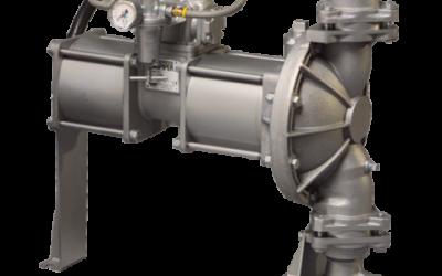 GH2 Sandpiper High Pressure Metallic Natural Gas Operated Pump