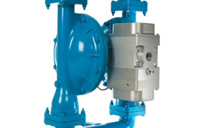 RS20 Sandpiper Air Operated Double Diaphragm High Efficiency Metallic Pump