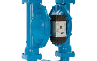RS30 Sandpiper Air Operated Double Diaphragm High Efficiency Metallic Pump