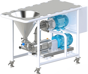 QVM Series High Viscosity Mixers from Q-Pumps