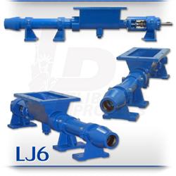 LJ6 Series Open Hopper Progressive Cavity Pump For Solids