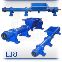 LJ8 Series Open Hopper PC Wine Must and Slurry Pumps