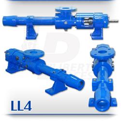 LL4 Progressive Cavity Pump | High-Abrasives, Content Grouting, Slurry PC Pump
