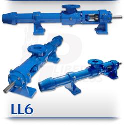 LL6 Progressive Cavity Pump | PC Pump For Drilling Mud & Hydraulic Fracking Fluids