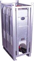 Narrow Profile Pallet Tank from ACO Container Systems