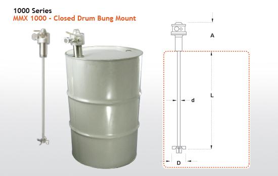 mmx 1000 closed head drum mixers york fluid controls ltd ontario canada. Black Bedroom Furniture Sets. Home Design Ideas