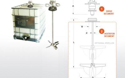 Tote Mixers for Plastic Tote Tanks | Dynamix Agitators
